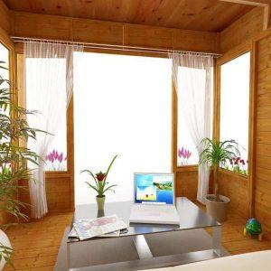 BillyOh 5000 Sunroom Summerhouse Range Internal View