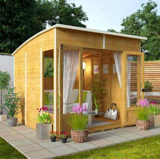 Billyoh 5000 sunroom summerhouse range what shed for Log cabin sunrooms