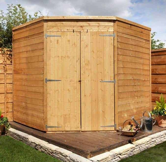 BillyOh 5000 Windowless Gardeners Corner Premium Tongue & Groove Shed