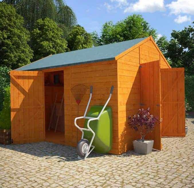 BillyOh 5000 Windowless Greenkeeper Workshop Premium Personnel Tongue & Groove Double Door