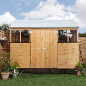 BillyOh 8x10 5000 Workman's Hut Front