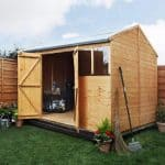 BillyOh 8x10 5000 Workman's Hut Open Door