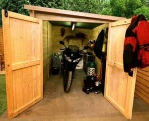 BillyOh Apex Bike Store Closed Front Open Door
