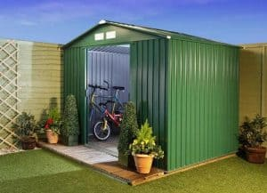 BillyOh Beeston 8' Fronted Premium Metal Sheds