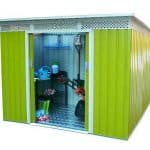 BillyOh Bella Metal Shed Range Including Foundation Kit