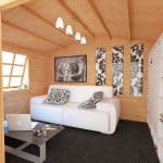 BillyOh Clubman Log Cabin Inside View