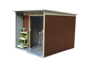 BillyOh Darren Metal Shed Range Including Foundation Kit