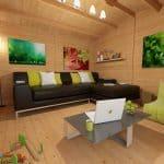 BillyOh Derwent Log Cabin Overall Inside View