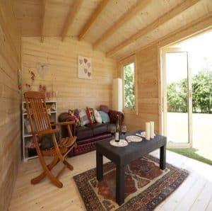 BillyOh Devon Log Cabin Inside View