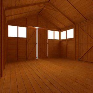 BillyOh Greenkeeper Workshop Inside View Empty