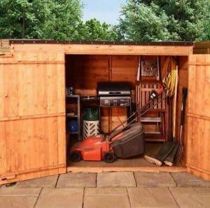 BillyOh Hyper Store Pent Storage Unit Front Open Door