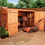 BillyOh Hyper Store Tongue and Groove Pent Garden Storage Unit Inc Floor