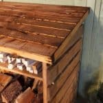 BillyOh Large Log Store with Kindling Shelf Roof