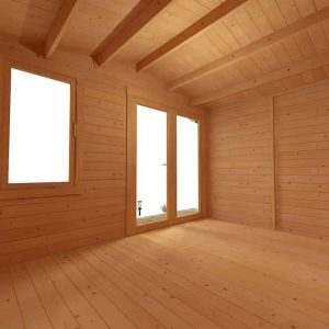 BillyOh Lodge Log Cabin Internal View Empty