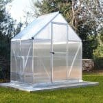 BillyOh Mythos Aluminium Twin Glazed Greenhouse