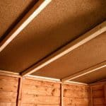 BillyOh Rustic Overlap Pent Shed Ceiling