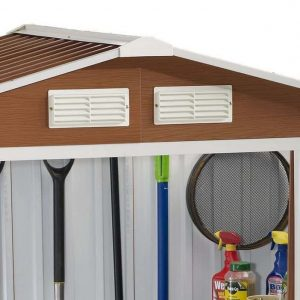 BillyOh Sherwood Premium Metal Sheds Dual Air Vent