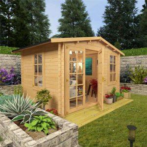 BillyOh Sportsman Log Cabin