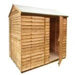 BillyOh Super Saver Economy Shed Single Door Close Up View
