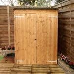 BillyOh Super Store Pent Shed Front