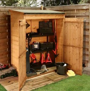BillyOh Super Store Tongue and Groove Pent Garden Storage Unit Inc Floor