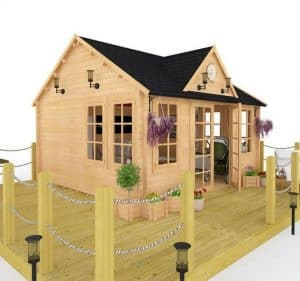 BillyOh Village Hall Log Cabin