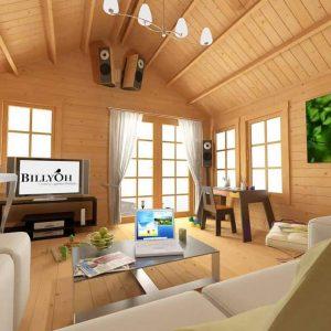 BillyOh Windsor Log Cabin Inside View