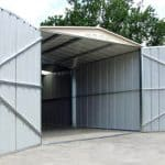 Canberra Heavy Duty Galvanised Garages