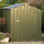 Easy Kit Apex Metal Garden Shed