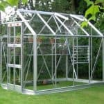 Elite Streamline 5'3 Silver Framed Metal Greenhouse