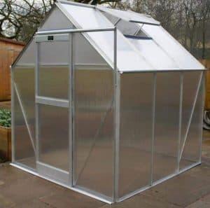 Elite iGro 6'3 Silver Framed Polycarbonate Greenhouse