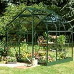 Halls Green Aluminium Supreme 6 x 6 Metal Greenhouse