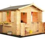 Mad Dash Junior Log Cabin Wooden Playhouses