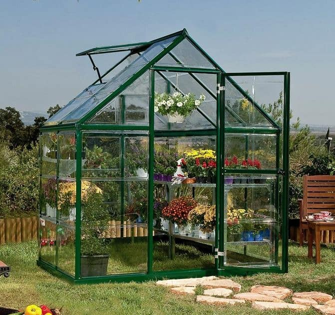 Palram Green Harmony Polycarbonate Glazed Greenhouses ...