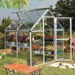 Palram Silver Harmony Polycarbonate Glazed Greenhouses