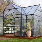 Palram Victory Orangery 12x10 Metal Greenhouse