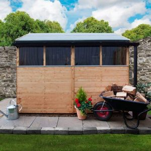 The BillyOh 4000 Range Wall Styrene Glass and Roof