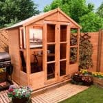 The BillyOh 4000 Tete a Tete Summerhouse Range Closed Door