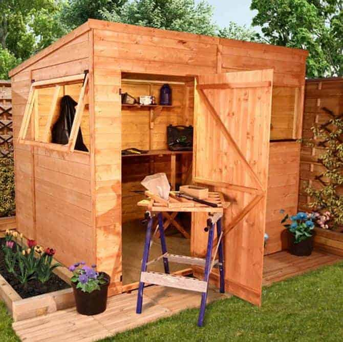 The billyoh 5000 pent range what shed for Garden shed homebase