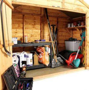 The BillyOh Apex Tool & Mower Store Range Internal View