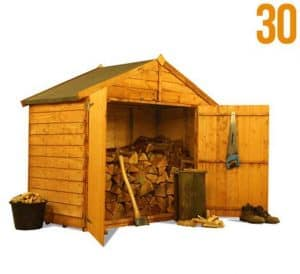 The BillyOh Log Store Range