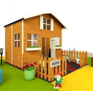 The Mad Dash 4000 Dutch Barn Playhouse Collection