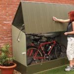 Trimetals Metal Bicycle Store Bike Shed