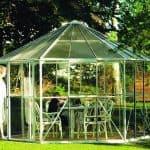 Vitavia Hera 9000 Hexagonal Metal Greenhouse