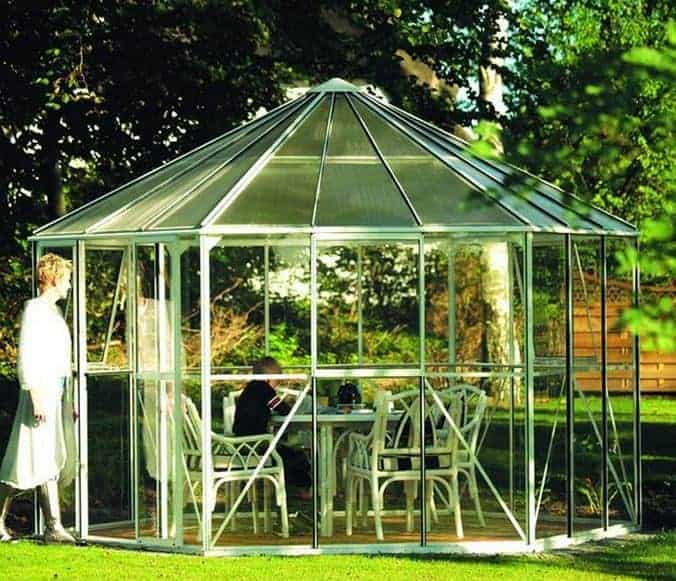 Vitavia Hera 9000 Hexagonal Metal Greenhouse