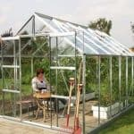 Vitavia Jupiter 9900 Silver Framed Greenhouse