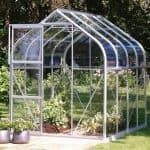 Vitavia Orion 5000 Silver Framed Greenhouse