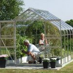 Vitavia Saturn 9900 Silver Framed Greenhouse