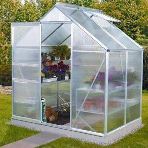 Vitavia Venus 2500 Silver Framed Greenhouse