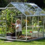 Vitavia Venus 5000 Silver Framed Greenhouse